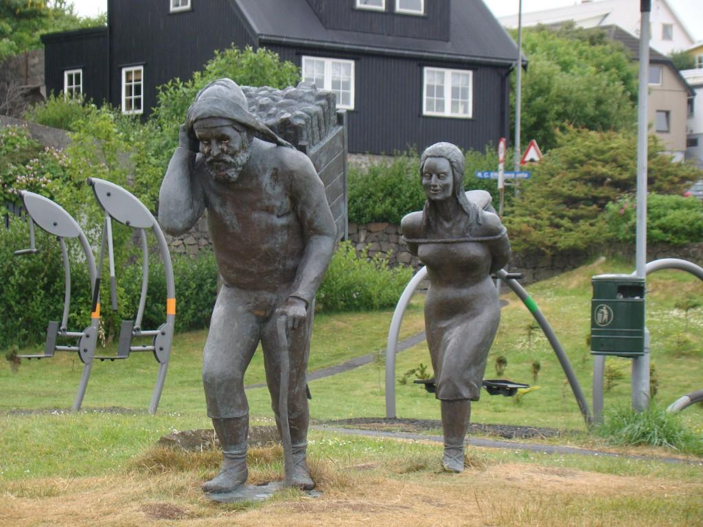 Denkmal in Tórshavn