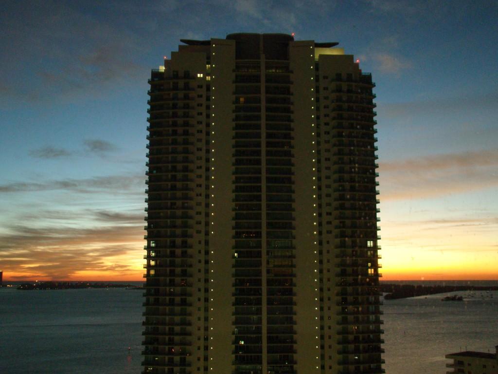 Sonnenuntergang über Miami