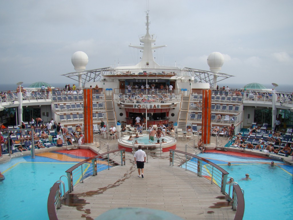 auf der Liberty of the Seas von Royal Caribbean Cruises