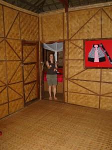 Lisu Lodge, Veranda, Zimmereingang
