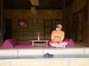 Ruhe auf der Veranda