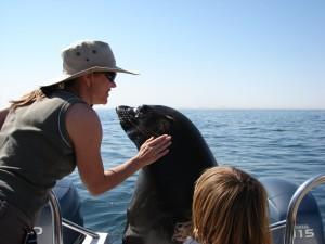 Feuchte Küsse in der Walvis Bay