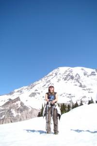 Mt. Rainier Anfang Juni