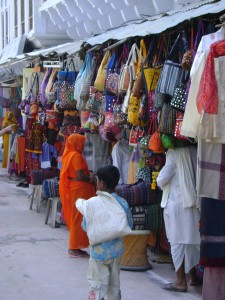 Laden in Indien