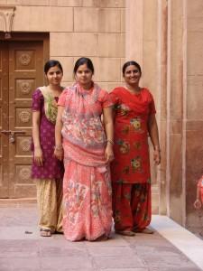 hübsche Frauen in Indien