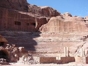 römisches Amphitheater in Petra