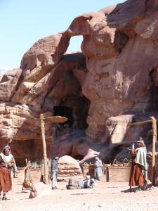 Petra, so könnte das Leben vor 2000 Jahren dort ausgesehen haben