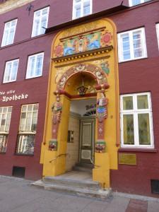 Alte Rathsapotheke in der Bäckerstraße in Lüneburg
