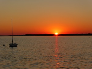 Sonnenuntergang in West Yarmouth