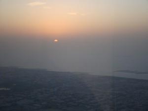 Sonnenuntergang vom Burj Khalifa
