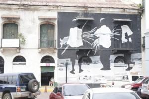 in der Altstadt von Panama