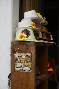 Panama hats / Hüte
