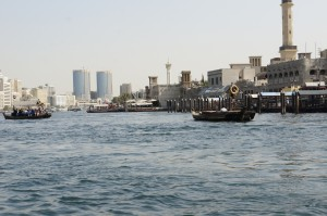 Abra am Dubai Creek