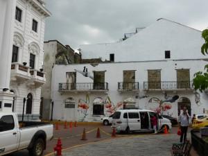 in der Altstadt von Panama, Panama Viejo