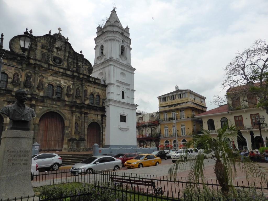 In Panama Viejo