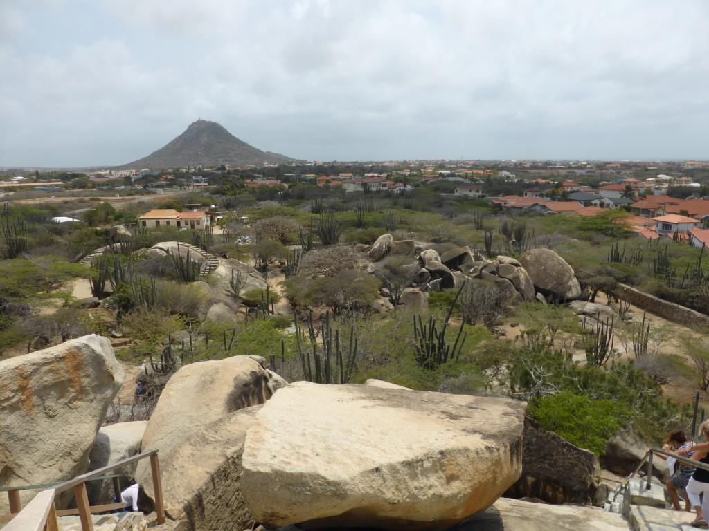 Blick über Aruba