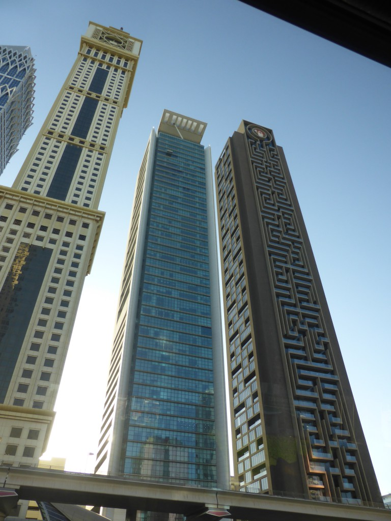 Wolkenkratzer in Dubai