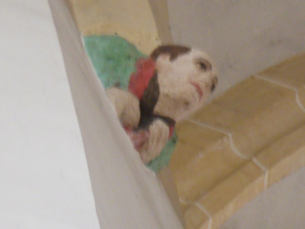 Abbild eines Baumeisters in der Frauenkirche in München