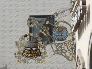 Brewery sign / Nasenschild in München