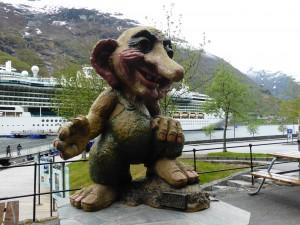 Troll in Geiranger