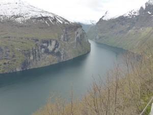Blick von Ørnesvingen / view from Ørnesvingen