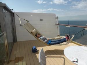 Terrasse der Himmel und Meer Suite. Kann ich hier bleiben?