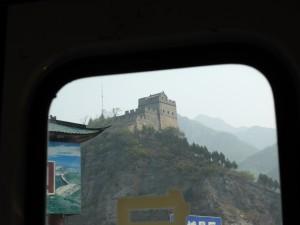 Teilstücke der Mauer unterwegs / Parts of the Great Wall