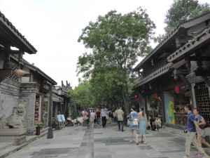 Altstadt von Chengdu / Old city centre of Chengdu