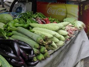 Markt in Leshan / market in Leshan