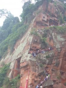 Treppe zum Großen Buddha / Stairs to the Great Buddha