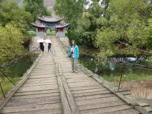 Hängebrücke / old suspension bridge