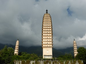 3 Pagodas in Dali