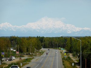 First full view to Mt Denali