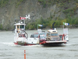 Yukon Ferry to Dawson