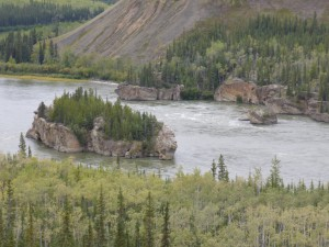Five Finger Rapids, Yukon River