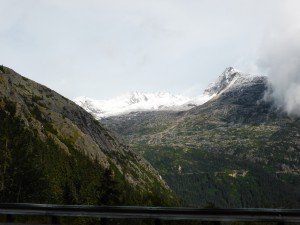 Alaska, shortly before Skagway
