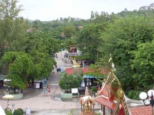 Aussicht vom Big Buddha nach unten