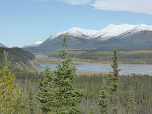 Kluane River View Point