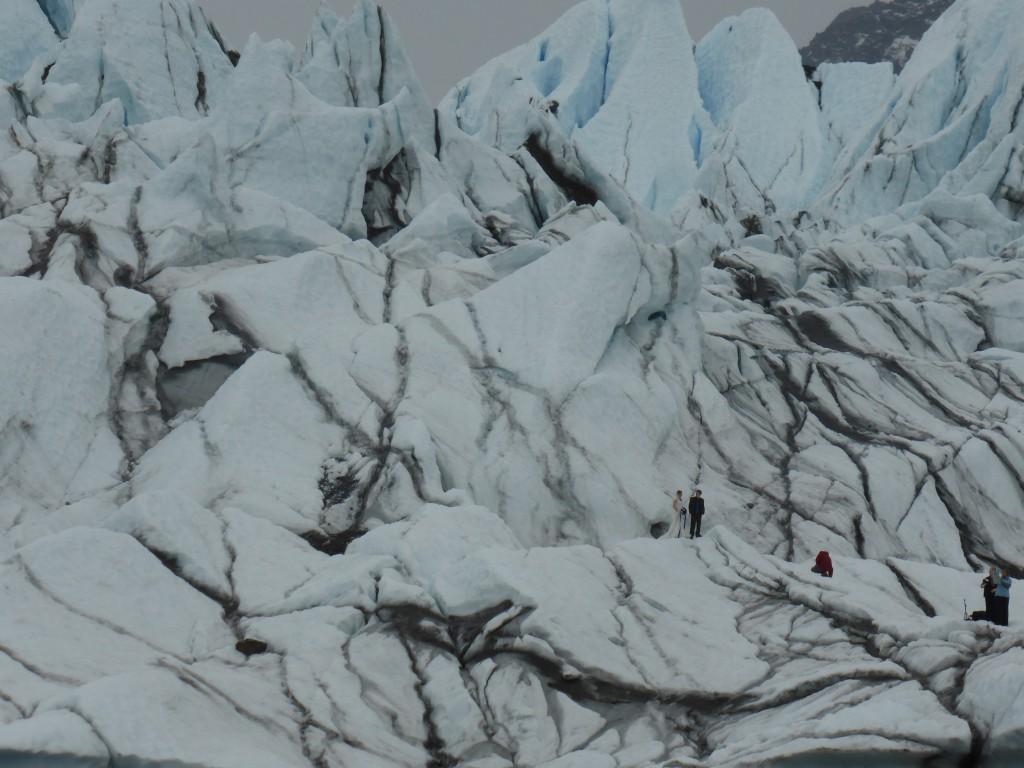 Hochzeitsfotos auf dem Matanuska Gletscher