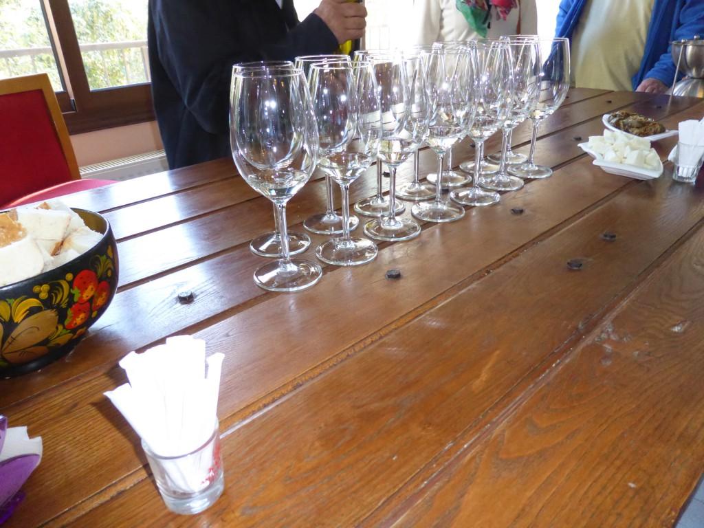 Weinprobe im Weingut Lambouri