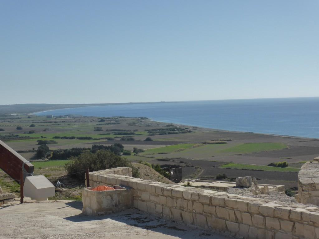 Blick von Kourion aufs Meer