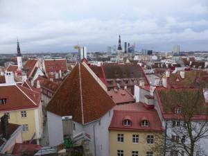 View over Tallinn