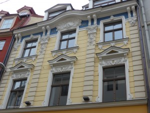 house in Riga