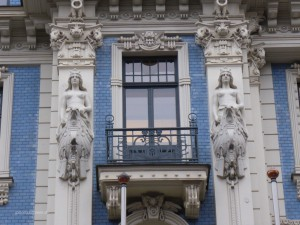 Art Nouveau house in Riga