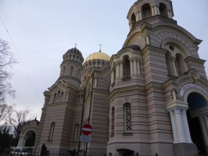 Russisch-Orthodoxe Kirche in Riga