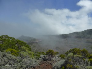 On the way to the caldera of the Piton de la Fournaise