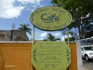 Wiener Walzer Café auf Mauritius