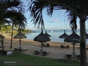 Strand beim Hotel Lux Grand Gaube