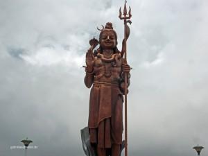 Shiva Statue bei Grand Bassin