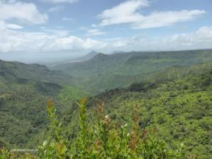 Blick über Mauritius
